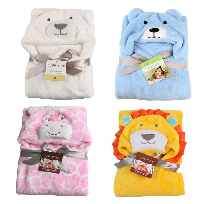 2019 New Soft Hooded Baby Towel Animal Baby Bathrobe Cute Pattern Cartoon  Towel Character Kids Bath Robe Infant Blanket From Fragranter bb5410c05