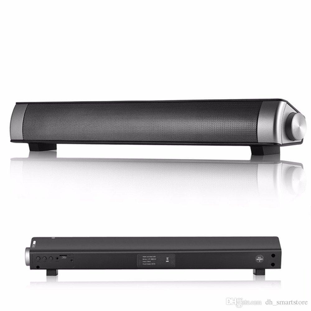 LP-08 Bluetooth Speaker Soundbar Stereo surround wireless Sound slim Subwoofer HIFI Speakers Computer laptop PC Tablet