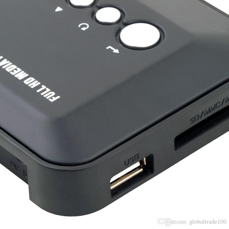 1080P HD Media player SD/MMC Videos SD MMC RMVB MP3 Multi TV USB HDMI Media Player Box Support USB Hard Disk drive