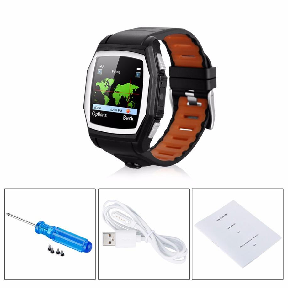 Fashion Bluetooth Smart Watch Sports Phone Watch Heart Rate SOS GPS Call Reminder Sleep Monitor Anti-lost Camera for Android IOS