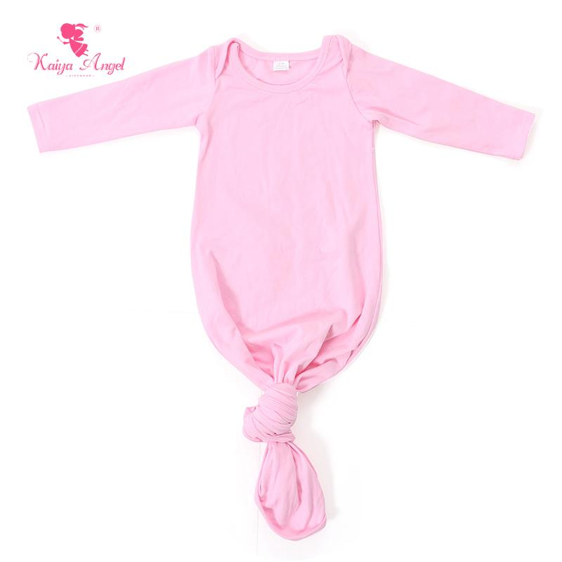 Baby Sleep Gown Pink Newborn Sleep Gown Light Blue Baby Tie Sack ...