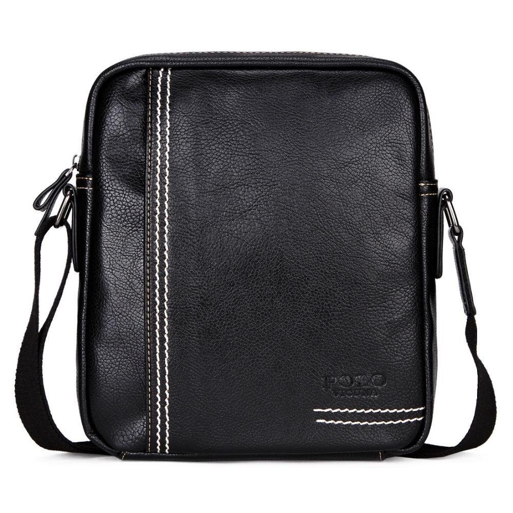 40c79f6d79 Fashion Casual Shoulder Bag Pu Leather Men Messenger Bags Male Travel  Crossbody Bag Zipper Small Handbags Men S Briefcase WBS413 Leather Bags For  Women ...