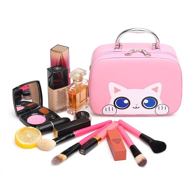 2019 New Cute Fashion Portable Makeup Box Korean Small Suitcase Teen Girls Shoulder Bag From Shoes2244, $35.95 | DHgate.Com
