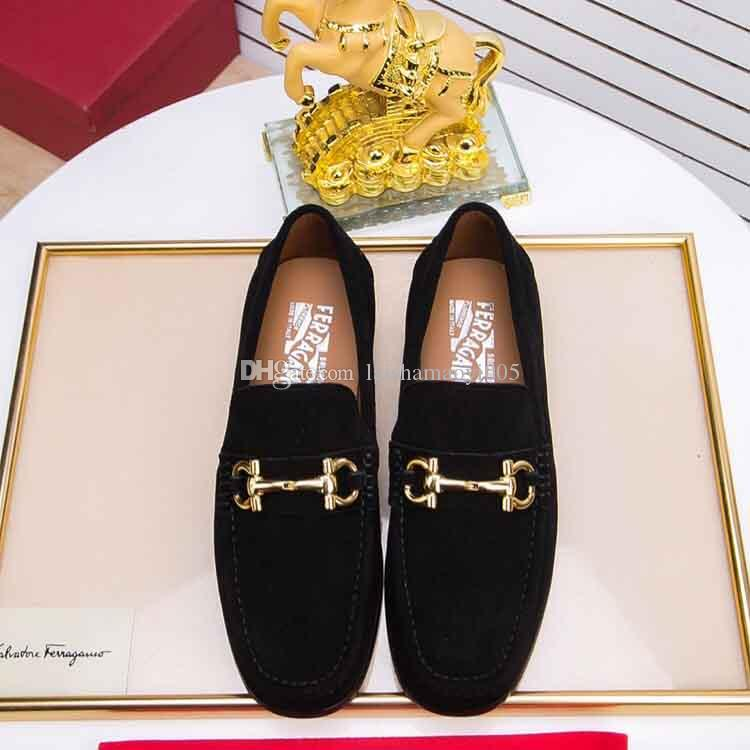 Casual Men Shoes Slip-On Loafers Spring And Autumn Fashion Genuine ... 164eb6ce78e