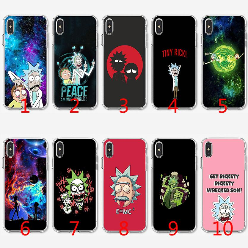 rick and morty coque iphone xs