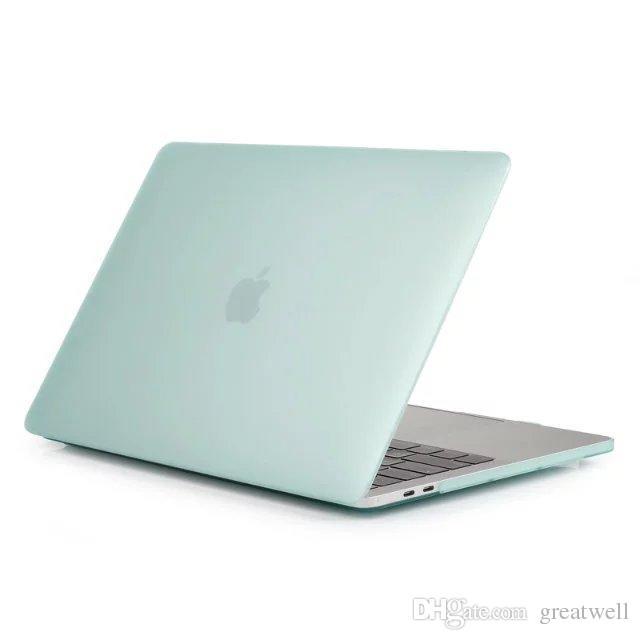 MacBook 11.6 12 13.3 15.4 Custodia protettiva Full Cover protettiva gommata opaca gommata Retina Air Pro