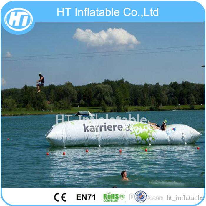 2020 Crazy 5X2M Inflatable Water Catapult Blob Water Sport ...