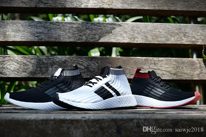 fe052e6b1f53 2018 Wholesale Discount Cheap Pink Red Gray NMD Runner R2 Primeknit ...