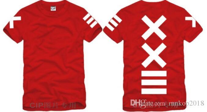 2018 New fashion PYREX VISION 23 tshirt XXIII printed T-Shirts HBA tshirt fashion t shirt MEN/WOMEN cotton T-Shirts