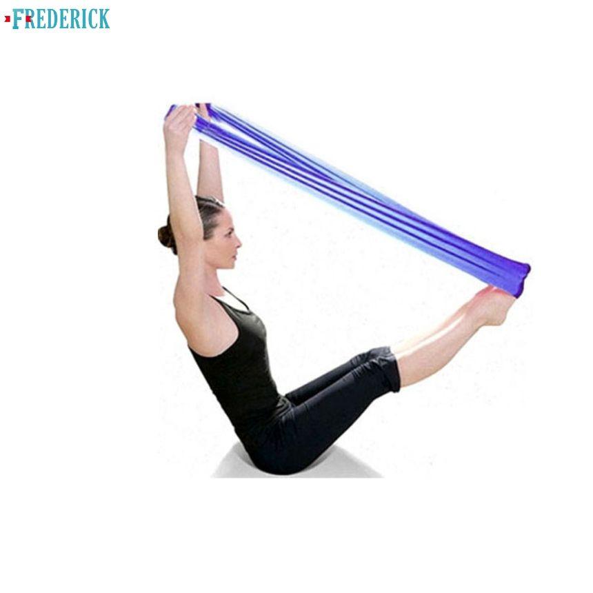 c08e8c2cb72 Yoga Loop Fitness Band Unisex Yoga Sports Elastic Expander Resistance Bands  Elasticas Pull Rope Crossfit Bodybuilding Pilates Equipment Commercial Gym  ...