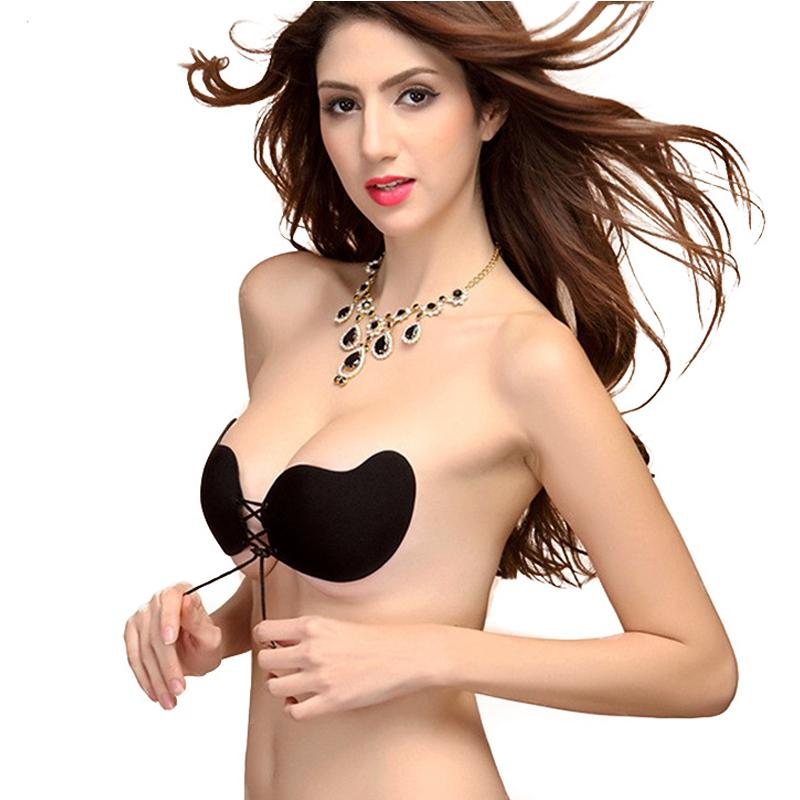 7fa2a45a3c Sexy Women Strapless Push Up Bra Silicone Mango Shape Self Adhesive Front  Bust Sexy Breathable Invisible Bra UK 2019 From Xinlangcom