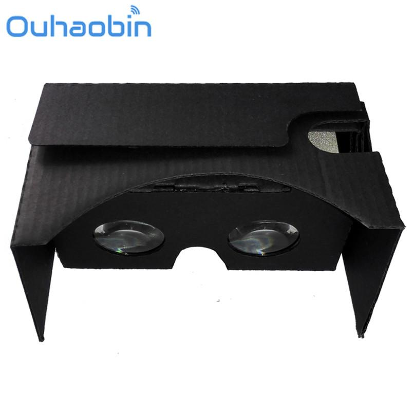 a2d16653f213 Cheap Ouhaobin 2017 New For Google Cardboard V2 3D Glasses VR Valencia  Quality Max Fit For 6 Inch Phone
