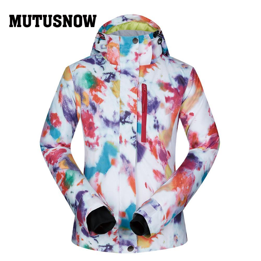 2019 Snowboard Women Jacket Brands 2018 High Quality Ski Winter Windproof  Waterproof Warmth Female Coat Snow Winter Jacket Women Ski From Orangeguo 0035df78d