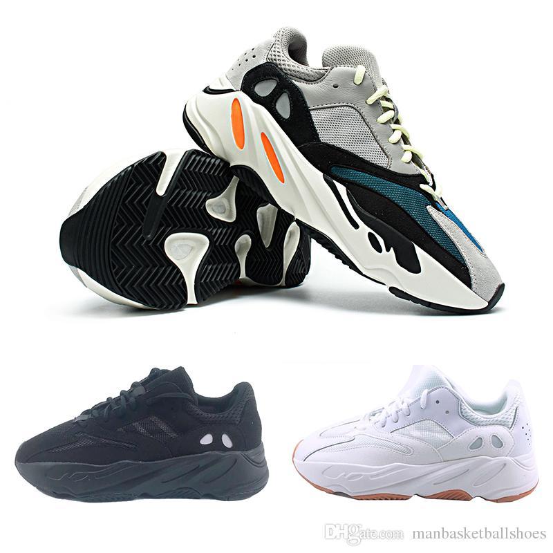 lowest price 9ef29 ca893 Compre Adidas Yeezy 700 Venta Caliente 700 Wave Runner Para Hombre Zapatos  Corrientes Para Hombres Mujeres B75571 Costura Color Atletismo Para Mujer  ...