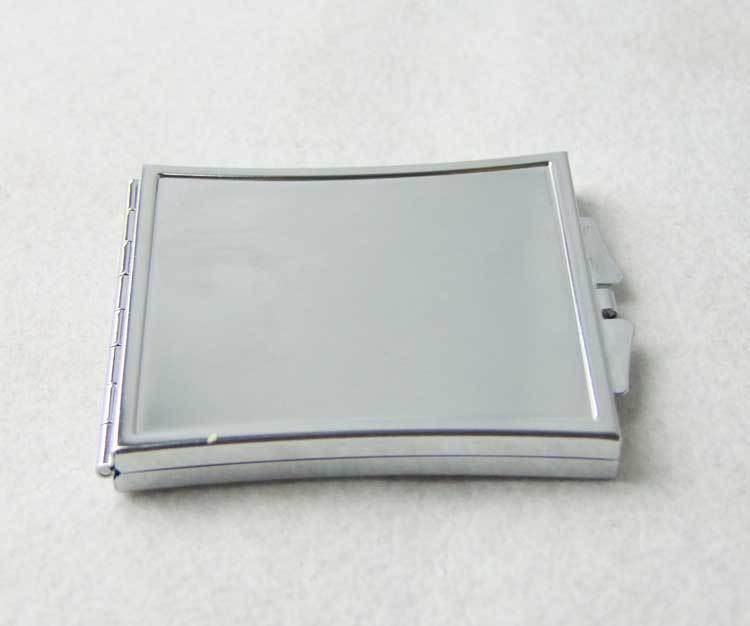 sublimation blank makeup mirrors can print photo hermal transfer printing cosmetic mirror subliming consumable factory price B22