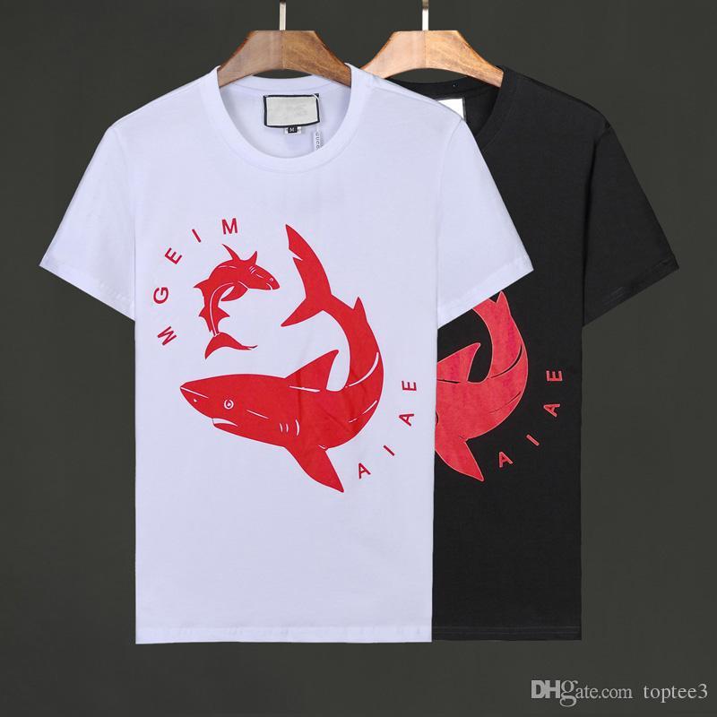 cf3323486d9 Fashion Summer 2019 Mens Designer T Shirts Mens Clothing Luxury T Shirts  Tide High Quality Hip Hop Casual Men T Shirt  6567 T Shirt With Shirt Moto  Shirts ...