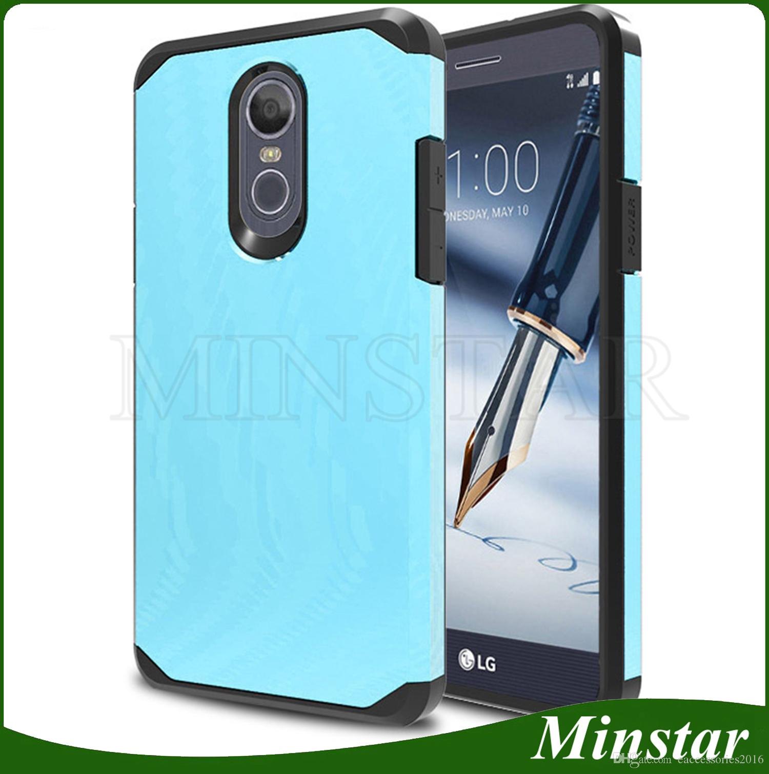 quality design 0500a e4dac Hot Sale Amazon Defender Slim Case For LG Stylo 4 Q Stylus Stylo 3 Plus  Aristo 3 2 X210 MS210 K20 Plus K10 K8 K4 2017 Shockproof Cover