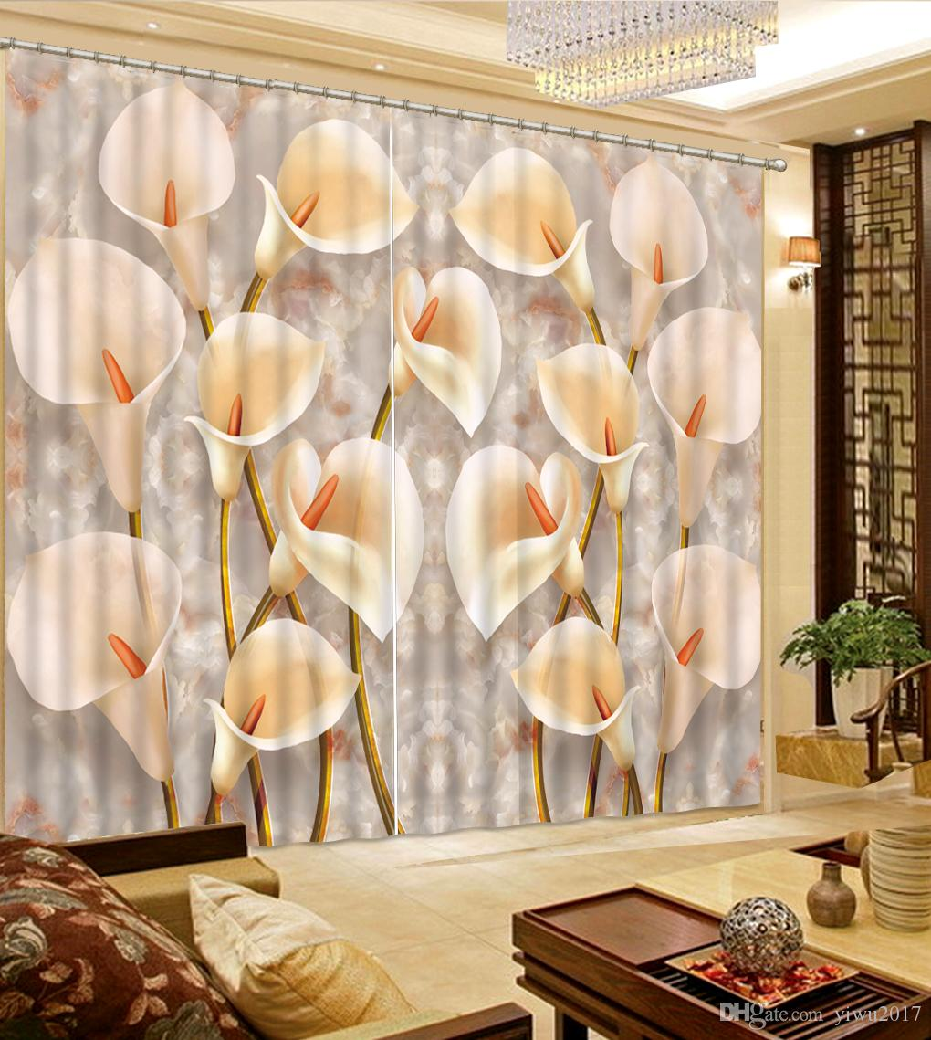 2018 simple and white flowers 3d blackout curtains window curtain 2018 simple and white flowers 3d blackout curtains window curtain living room home improvement bedroom curtain from yiwu2017 2000 dhgate mightylinksfo