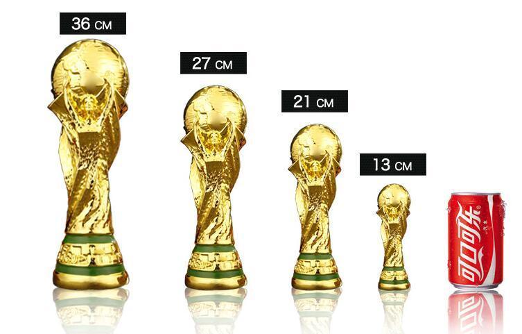 Titan Tasse Artware Harz Modell 21 cm 27 cm 36 cm 44 cm Russland world cup fußball trophäe Fans Souvenir geschenk DHL Schnelle geliefert! Unterstütze dein Team !!