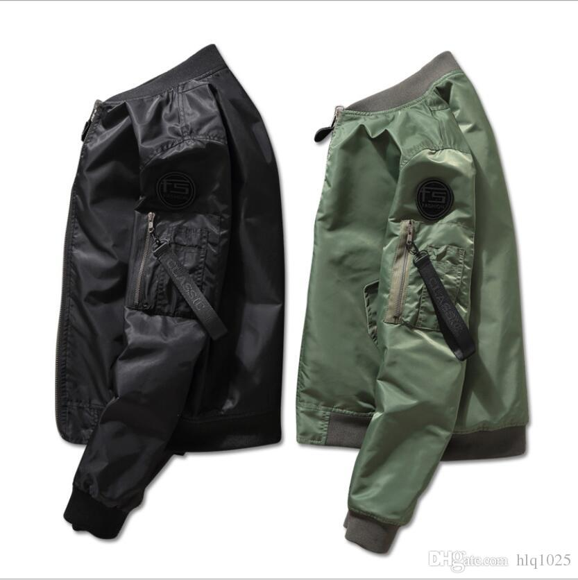 Jacket Men And The United States Tide Brand Flight Suit Men And Women Thin  Section Double Sided Wear Camouflage Baseball Uniform Short Coat Summer  Coats And ... d19ed2f78