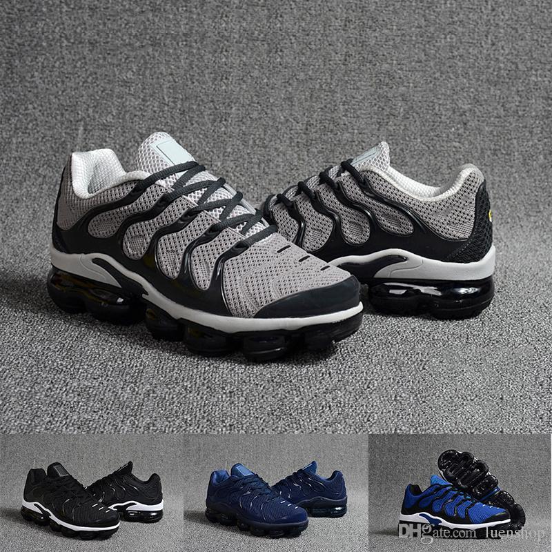 los angeles bc2ef a715c Compre Nike Air Max TN Zapatillas De Running Para Hombre 2019 New TN Y  Olive Mens Para Hombre. Llevan Un Negro De Color Azul Metalizado, Zapatillas  Para ...