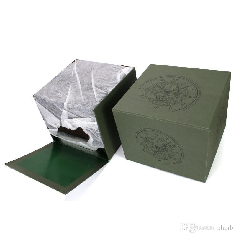High-End Top Luxus Uhrenboxen Marke Original Uhrenbox Verpackung mit Papieren Karten Geschenkbeutel für AP Uhrenbox