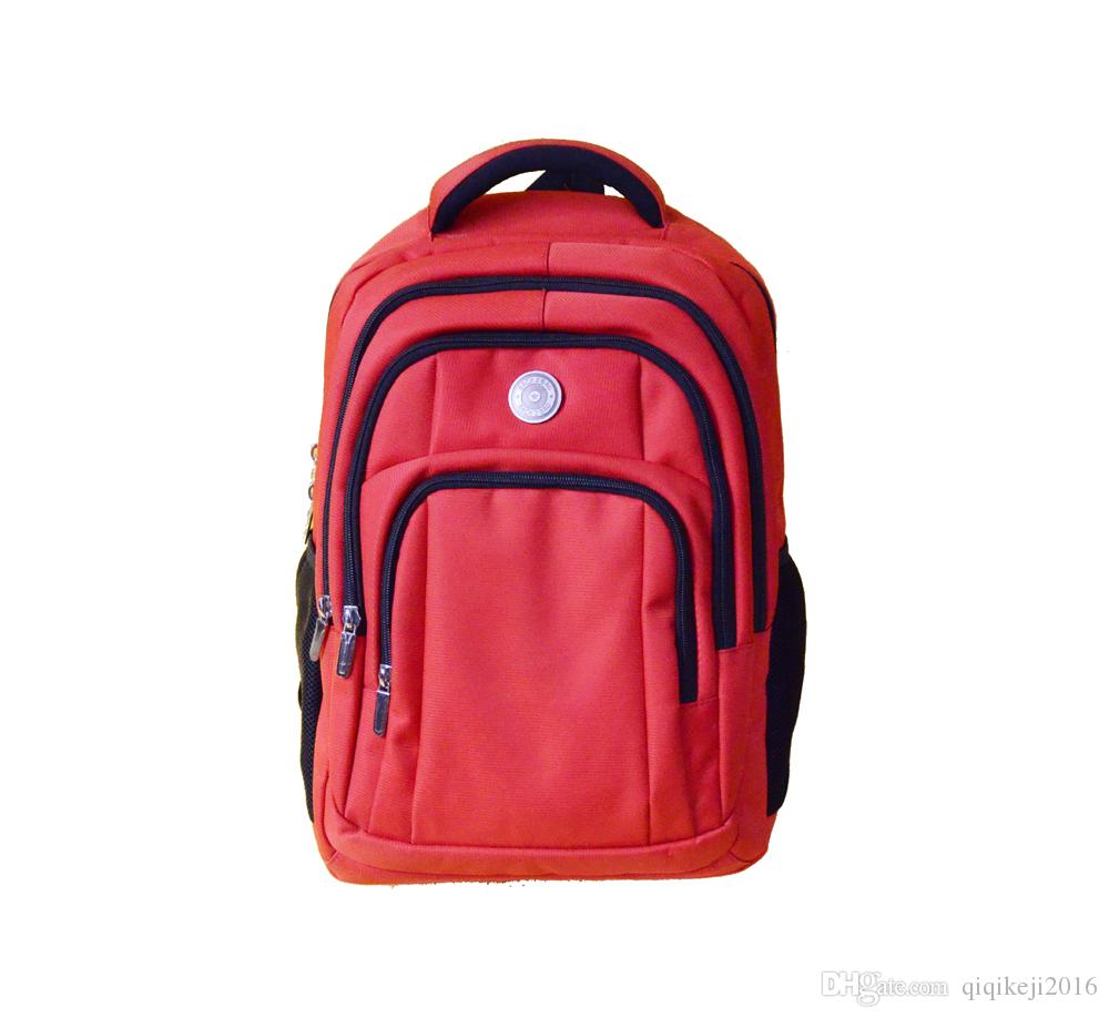 b206f8dcd2 2018 Hot Seller 4 Layers Red Backpack Notebook Bags Travel Knapsack ...