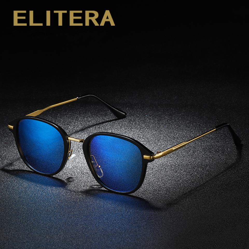 a693c7649a ELITERA Full Slim Frame Polarized Sunglasses Women Men Retro Vintage Mirror  Sunglasses Alloy Temple Eyewear Lenses UV400 Sunglasses Cheap Sunglasses  ELITERA ...