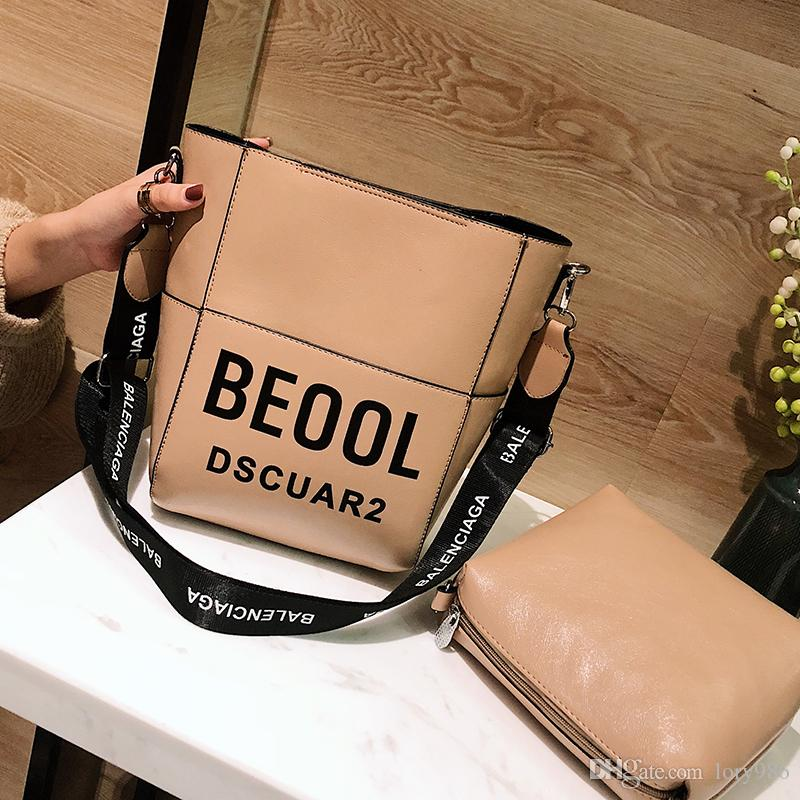 China Brand Shoulder Bags Composite Bucket Bag Female Ladies Leather Small  Messenger Single Strap Bags Guangyuanwanggong   8 Leather Goods Branded Bags  From ... 5b9dd70e3c