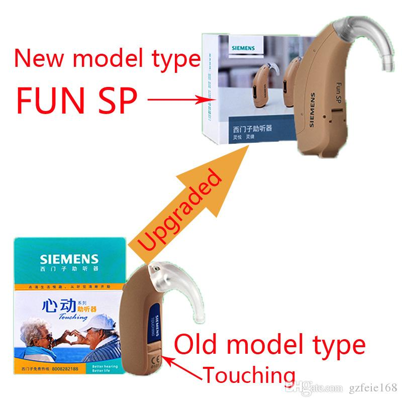 Original Siemens Hearing Aid Fun Sp Best Sound High Powerful Mini In
