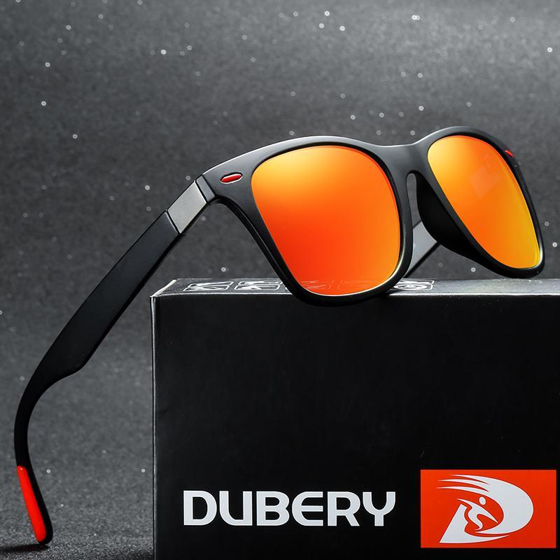 9a62ab407b Compre DUBERY Nueva Marca Diseño Polarizado HD Gafas De Sol Hombres  Conductor Sombras Hombre Gafas De Sol Para Hombre Verano Espejo Cuadrado  Oculos UV400 A ...