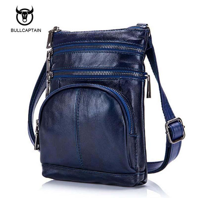 Bullcaptain Original Real Cowhide Leather Men Bag For Man 2017 New ... 180109fc738f5