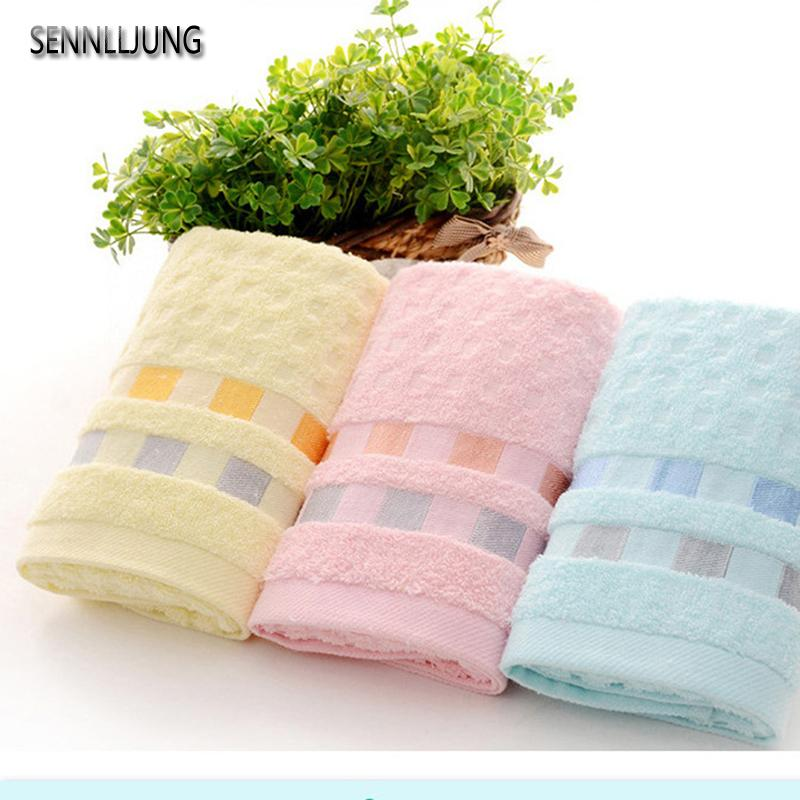 High Quality Soft Pure Cotton Gifts Face Hair Solid Bathroom Towels