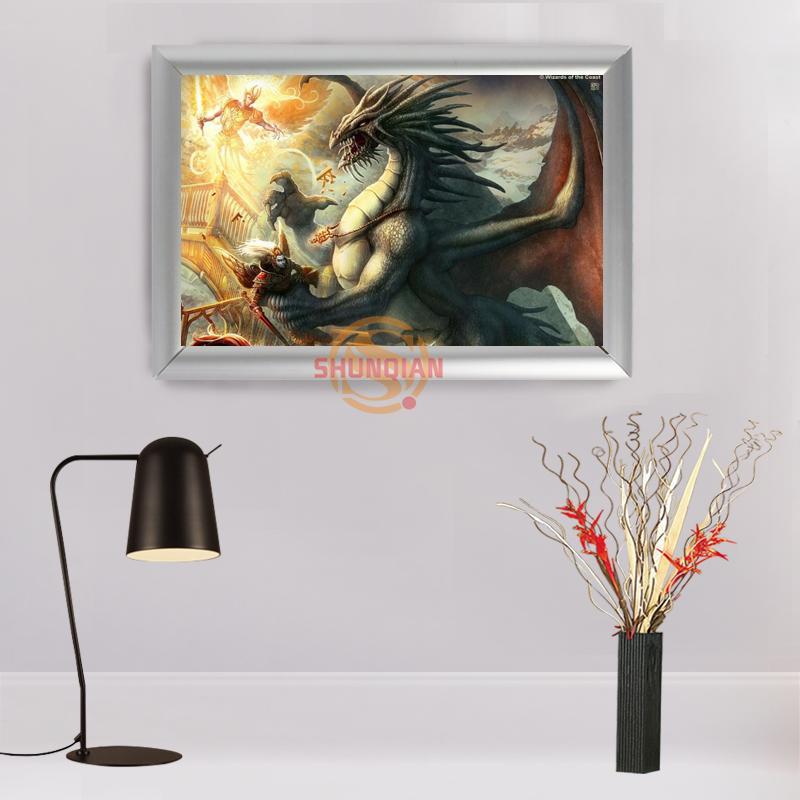 Online Cheap Hot Sale Custom Aluminum Alloy Painting Frame Home ...