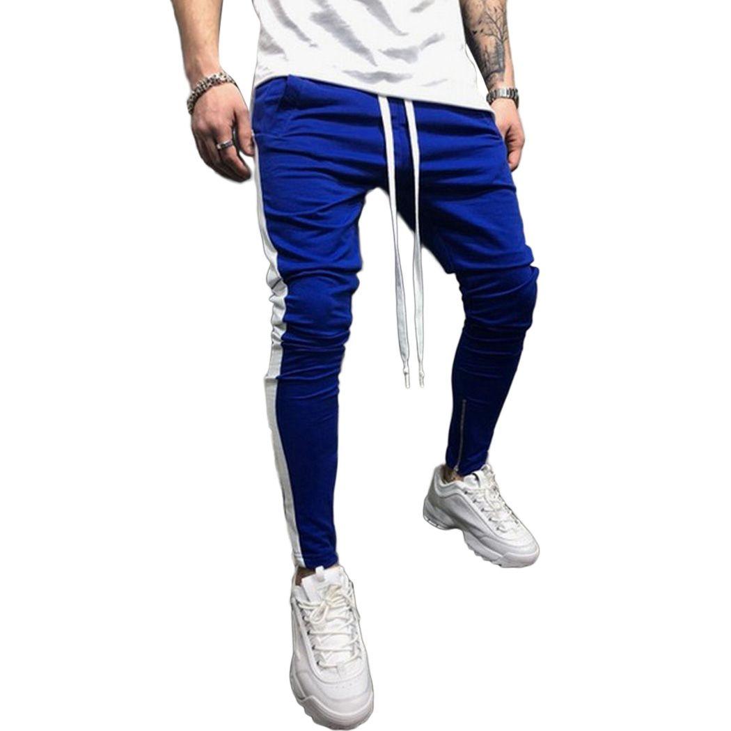 Hop Hip 2018 Acheter Sarouel Fitness Hommes Jogger Zipper Nouveau 4nTH0wq