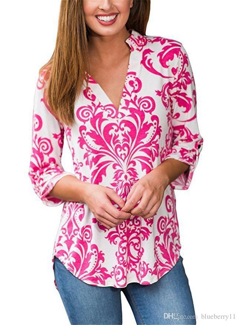 New Fashion T-Shirt Estate Maglietta manica corta Donna Tee Tops Abbigliamento donna Plus Size S-2XL