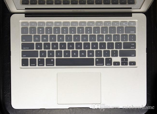 Macio Silicone Rainbow teclado Case Capa Protetor Da Pele Para MacBook Pro Retina De Ar 11 13 15 17 À Prova D 'Água À Prova de Poeira EUA Ver OEM