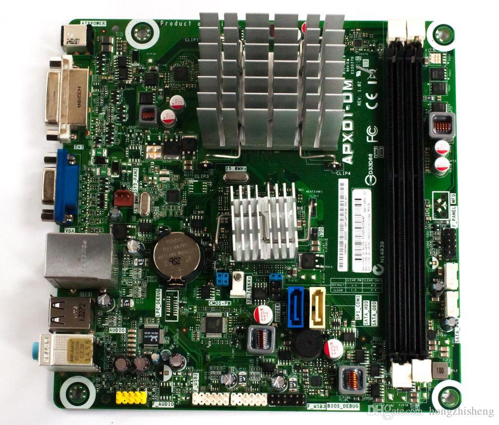 شحن مجاني chuanyuu ل APXD1-DM mainboard apu e350 البسيطة itx 661109-001 ، DDR3 العمل المثالي