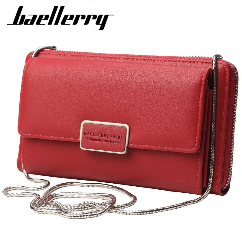 e8f120d774 Baellerry Multifunction Mini Shoulder Bag Female Faux Leather Messenger Bag  Women Small Purse Red Ladies Crossbody Large Clutch Hobo International  Wallet ...