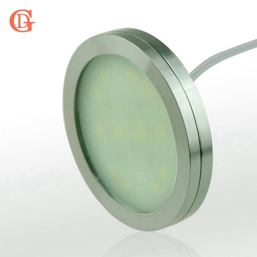 Dimmable 12v dc 25w led under cabinet lighting puck light for dimmable 12v dc 25w led under cabinet lighting puck light for kitchencounter led cabinet light no power supply no dimmer bulb types filament light bulbs aloadofball Gallery