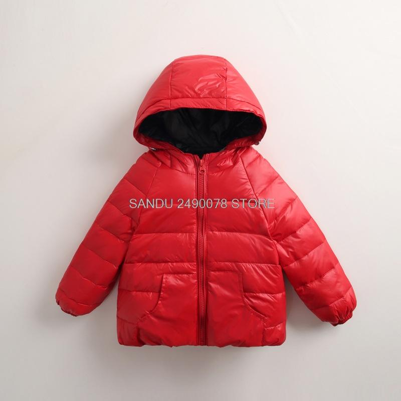 db80bd469 Thick Velvet Kids Girls Boys Winter Coat Warm Children S Winter ...