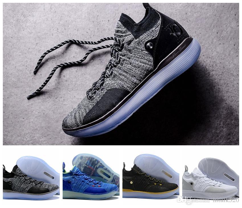 c80e14ee5829 Compre Zapatillas De Baloncesto KD 11 De Alta Calidad Zapatillas De Tenis De  Cloro Violeta Persa Paranoico Negro Kevin Durant 11s Zapatillas De  Diseñador ...