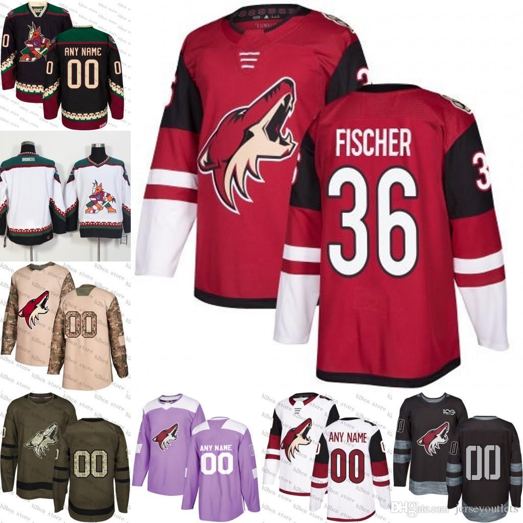 d6e5241b8 ... hockey jerseys under 24.12 dhgate 73ddb 75de6; new zealand buying cheap  37979 da8b1 2018 2018 2019 mens arizona coyotes 36 christian fischer ice