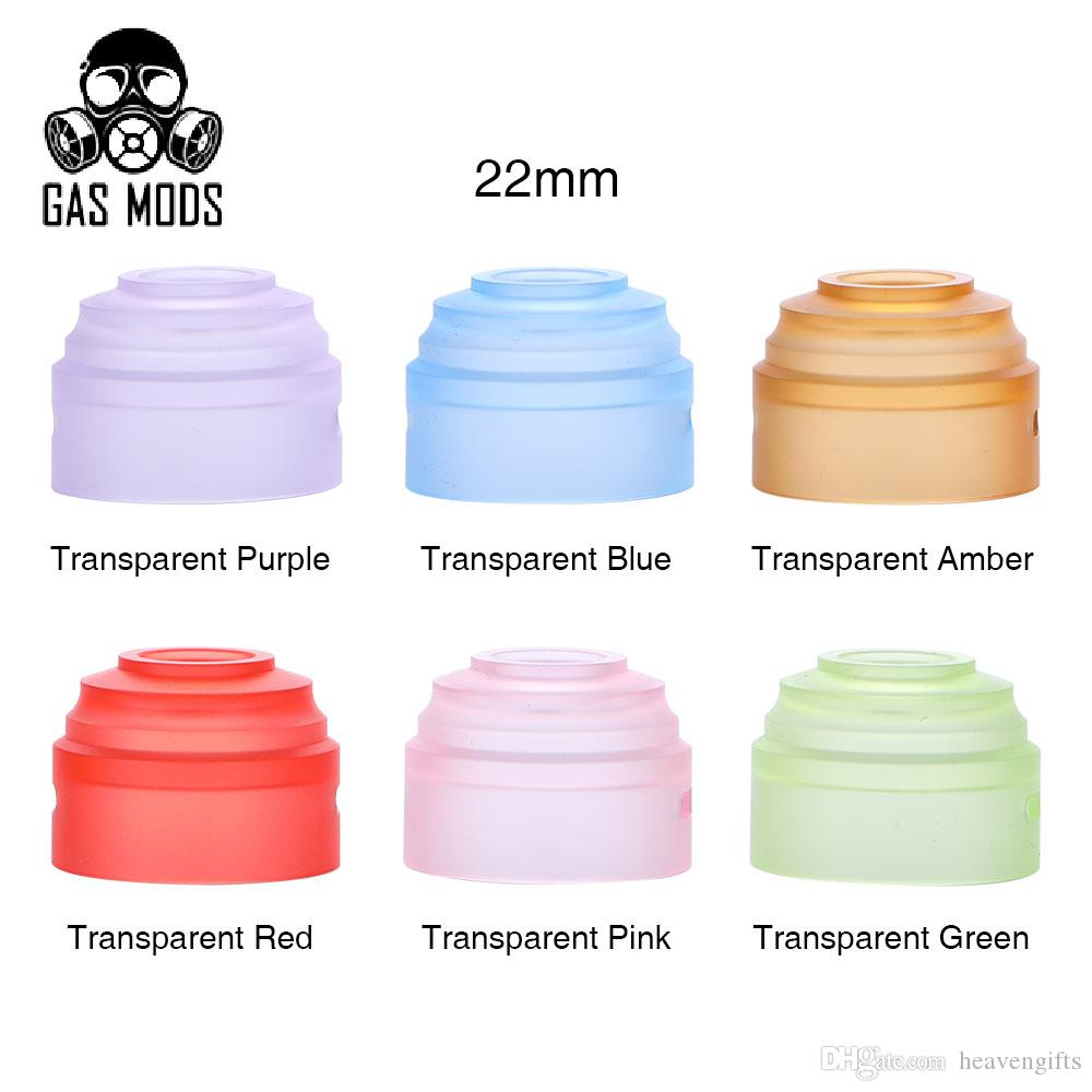 Gas Mods Gr1 Rda Top Cap 22mm Pack For E Goon Styled Rebuildable Dripping Atomizer Black Cigarette To Us Vape Coil Tools Wrapping From Heavengifts 544