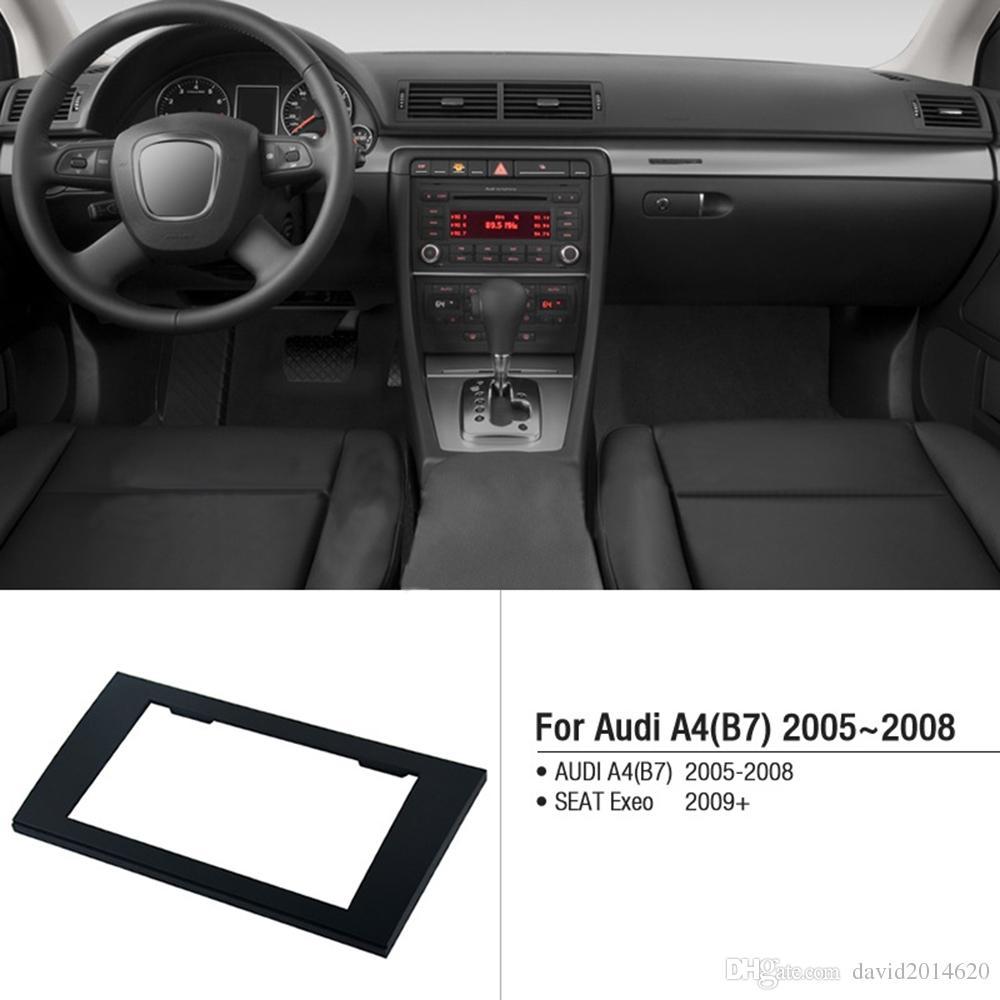 Car Multimedia Player Frame For Audi A4 B7 2005~2008 Radio GPS Navi Fascias  Auto DVD Stereo Panel Dashboard Trim Frame 173X98