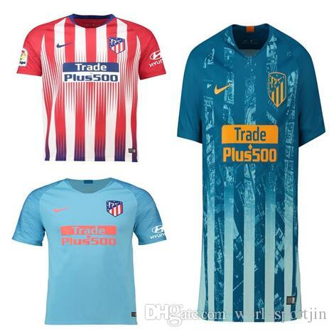 Compre 2018 2019 Atletico Madrid Jersey De Fútbol GRIEZMANN KOKE DIEGO COSTA  GODIN Jersey Camisetas De Futbol 18 19 Camiseta De Fútbol A  13.51 Del ... 0c868a38ee4a9