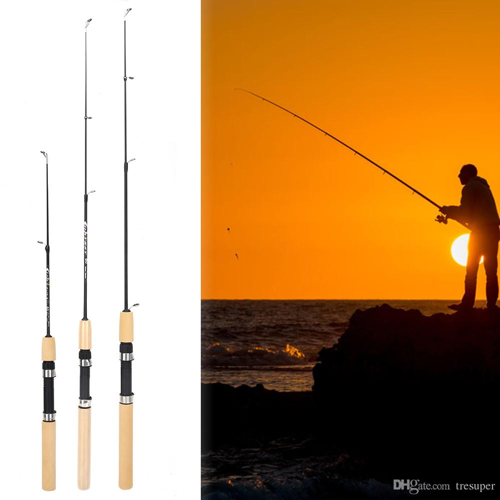 60cm to 100cm Shrimp Ice Soft Fishing Pole Portable Light Weight Fishing Tackle Fishing Rods Supplies