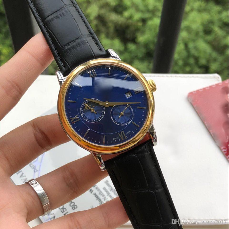 cbb16f6484e Compre CINZA PRETA OURO 42 MM CASE Automático De Moda Mecânica AAA Homens  Relógio De Luxo Por Atacado De Aço Inoxidável Novo Mens Relógios De  Watch2017