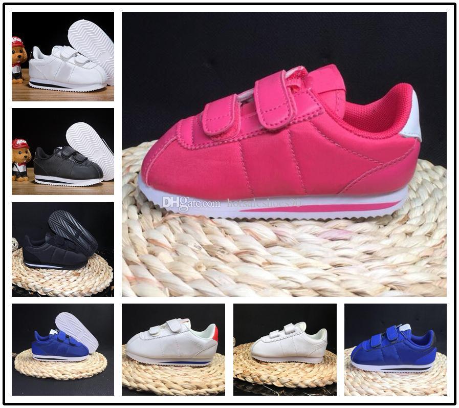 adf5b6ba1 Compre Nike Cortez Nuevas Zapatillas De Deporte Para Niños Zapatos  Deportivos Zapatillas Para Niños Niños Zapatillas Cortez Girls Zapatos  Casuales Para ...
