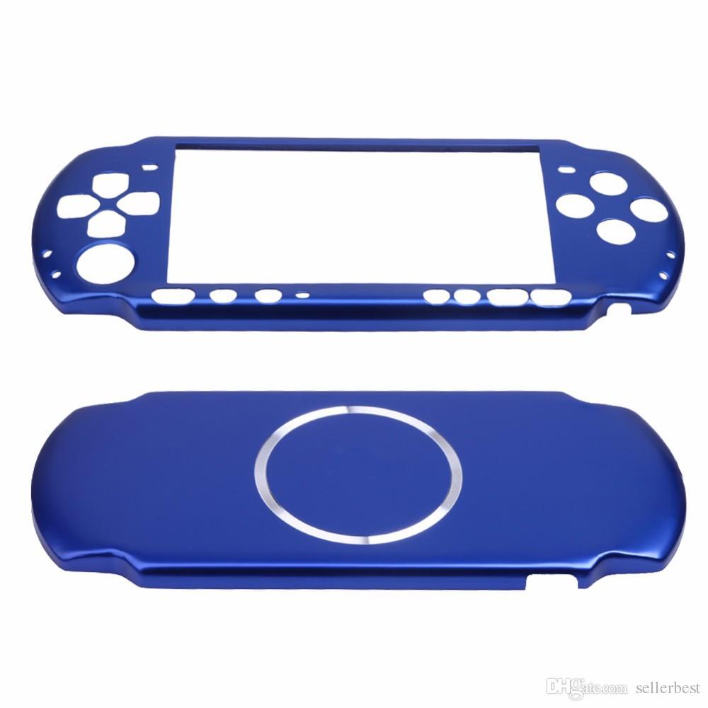a43f8c6d21eca 7 Farben Aluminium Hard Case Cover Shell Schutzfolie für Sony PSP 3000 Slim  Konsole